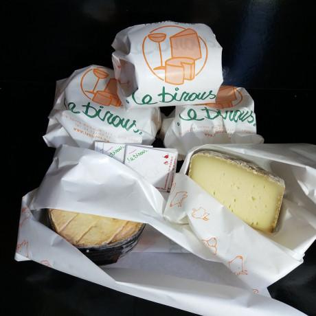 Colis fromages et/ou salaisons.