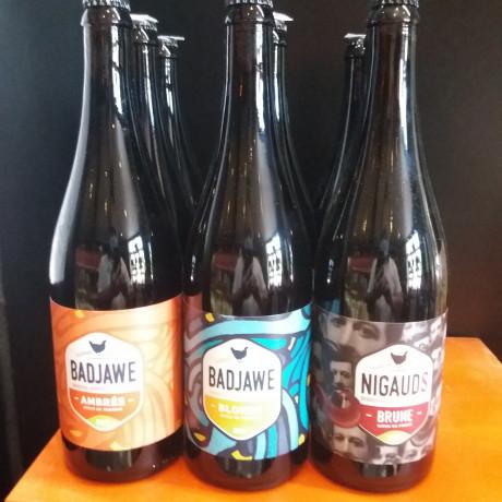 La Badjawe bière de ferme Bio